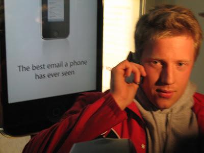 Jonny Gladwell : Premier client US de l'iPhone 3G