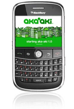 Aka-aki pour blackberry