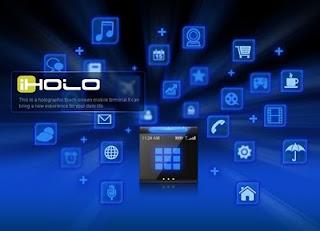 iHolo : le smartphone holographique