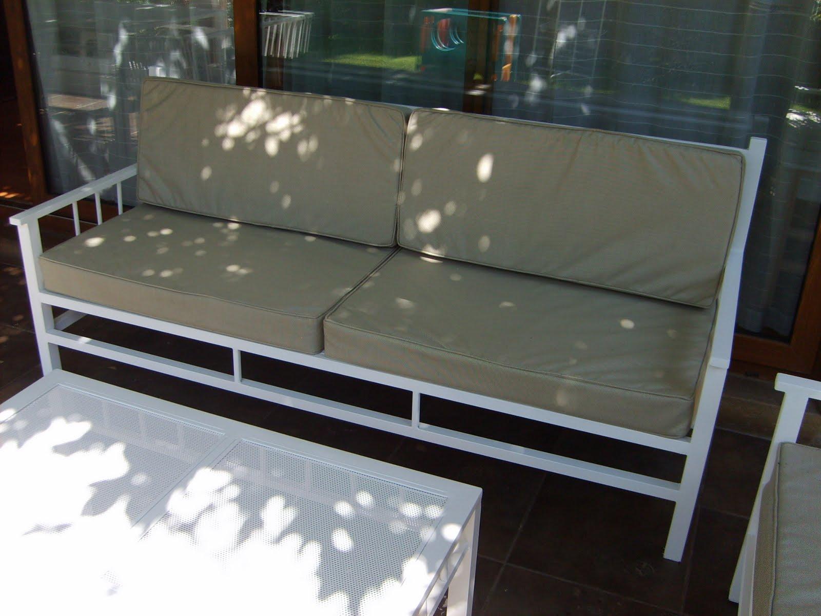 muebles andrea schoennenbeck juego terraza de fierro