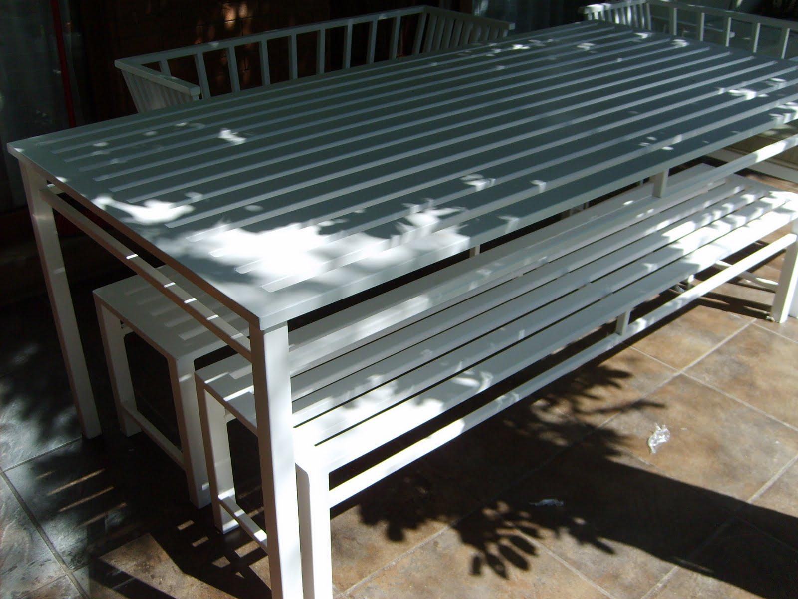 Muebles andrea schoennenbeck for Comedor para terraza