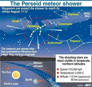 Watch Perseid Meteor Shower  2009 Live