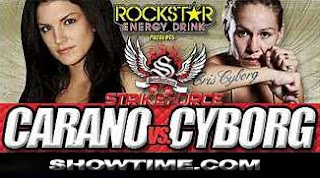 Watch Strikeforce Carano vs. Cyborg Live Online Video