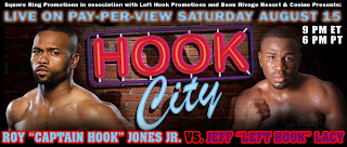 Watch Hook City Roy Jones Jr. vs. Jeff Lacy Live