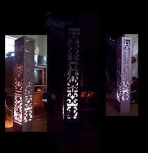 Colunas Luminária