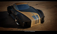 BMW Sports Couoe Design 4 BMW Sports Coupe Concept Car by Kransov Igor