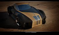 BMW Sports Couoe Design 4 BMW Sports Coupe Concept Car by Kransov Igor