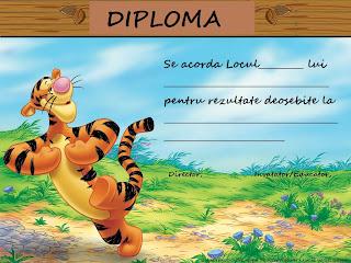 diplome pentru copii