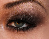 smokey eyes look