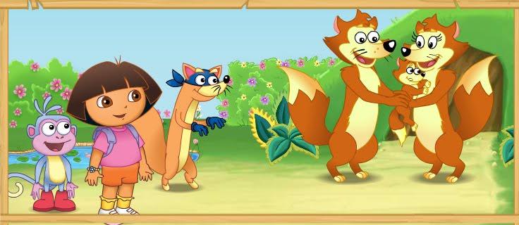 Guillermo Biasini Portfolio: Dora The Explorer - Swiper's ...