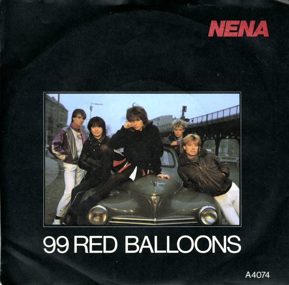 99 Luftballons - 99 Red Balloons: Nena. Lyrics in English ...