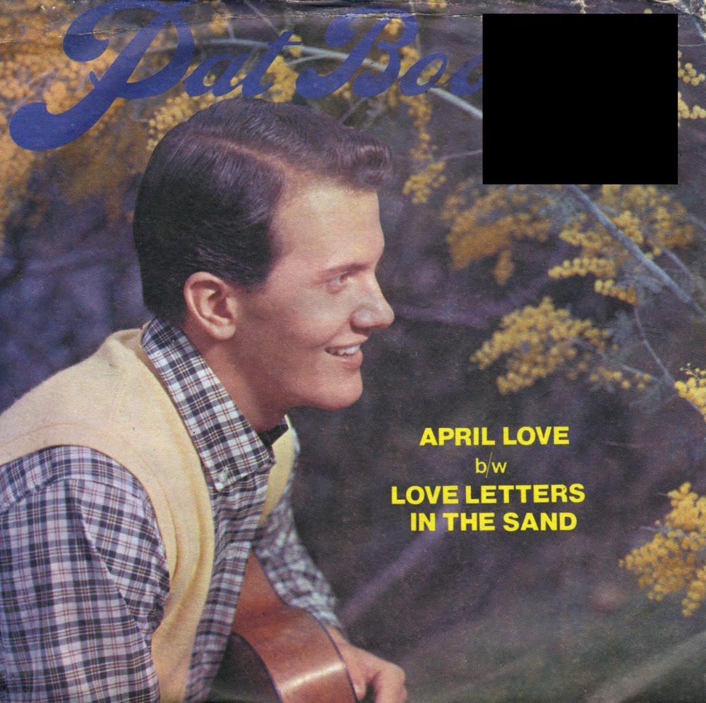 music on vinyl april love pat boone