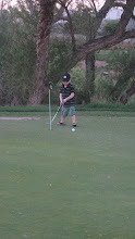 It is amazing how much this kid loves to golf!