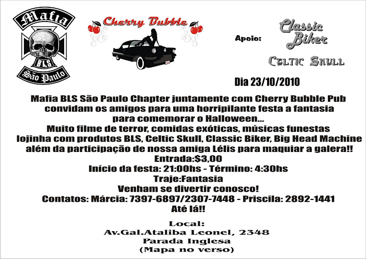FESTA HALLOWEEN NO CHERRY BUBBLE