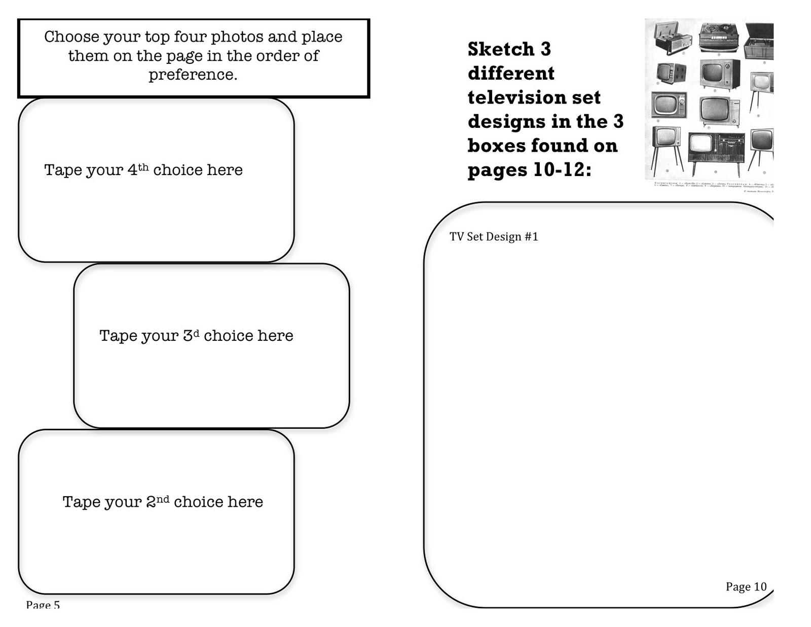 artist study graphic organizer