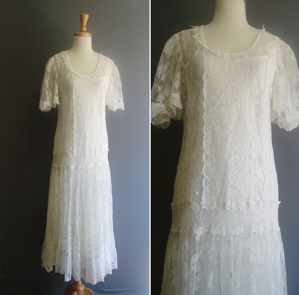 Revolving styles vintage overdue shop update for 1920 s wedding dresses