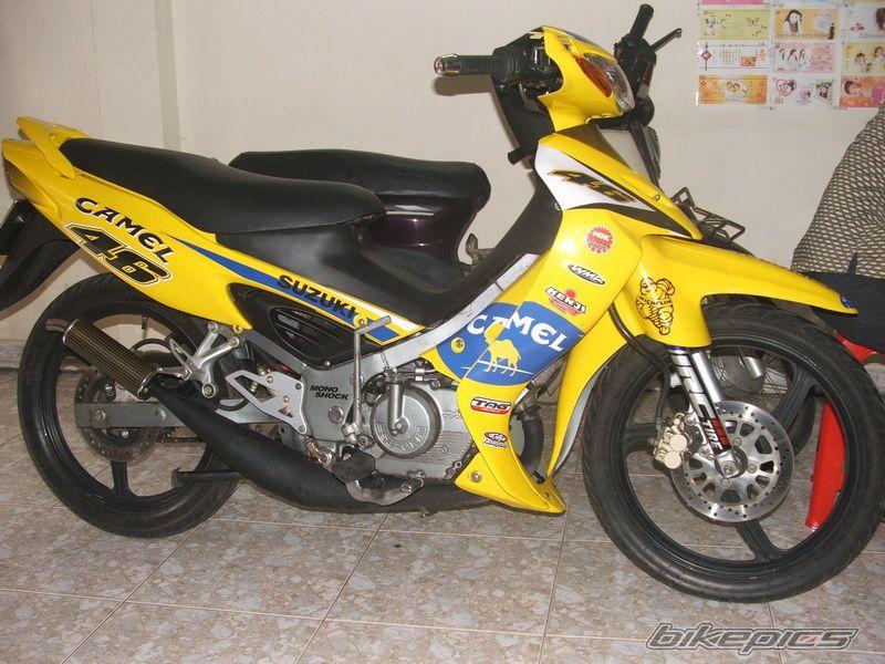 Gallery Pictures MotorBike  Suzuki Satria R 120