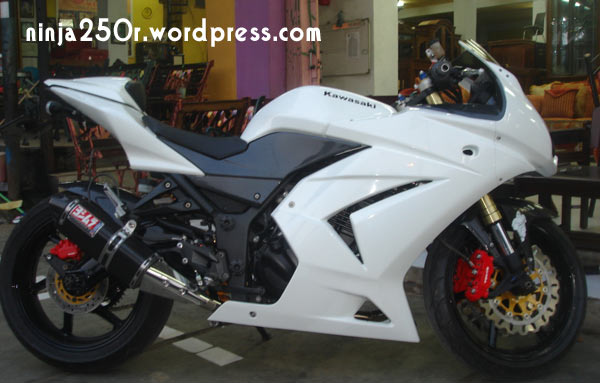 Picture of Kawasaki Ninja 250cc Modifikasi