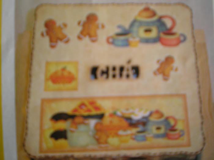 Caixa de Chá 9 divisoes