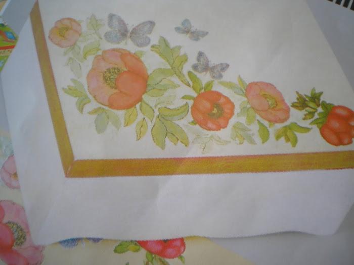 Caixa Branca/Flores