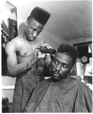 VINTAGE??: LATE 80'S BIG DADDY KANE FLAT TOP STYLE HAIRCUT SMOOTH