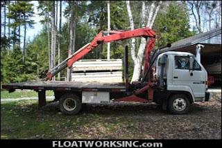 Float Dock Storage