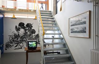 Richard Müller: Vue de l'installation atelier