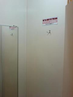 Changing Room Pee