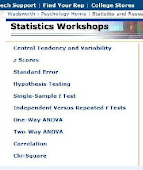 Online Statistics Workshops