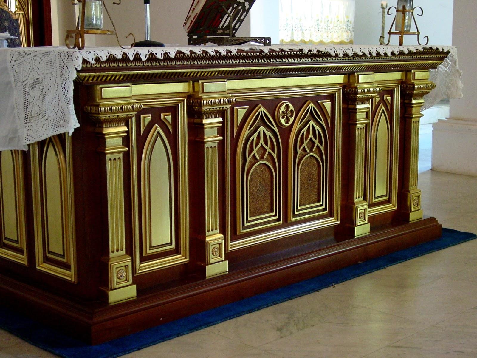 Retablo mayor conjunto de la iglesia de los puertos de for Arquitectura sacro