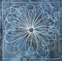free motion quilting design | quilting