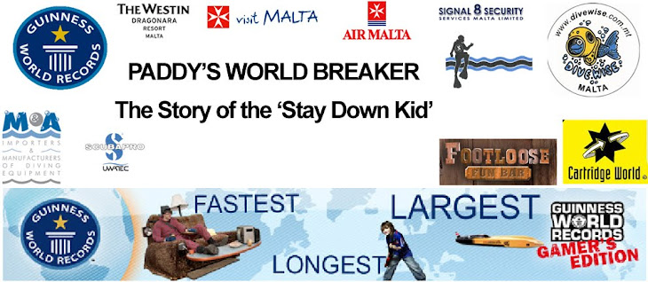 Paddy's World Breaker - The Stay Down Kid