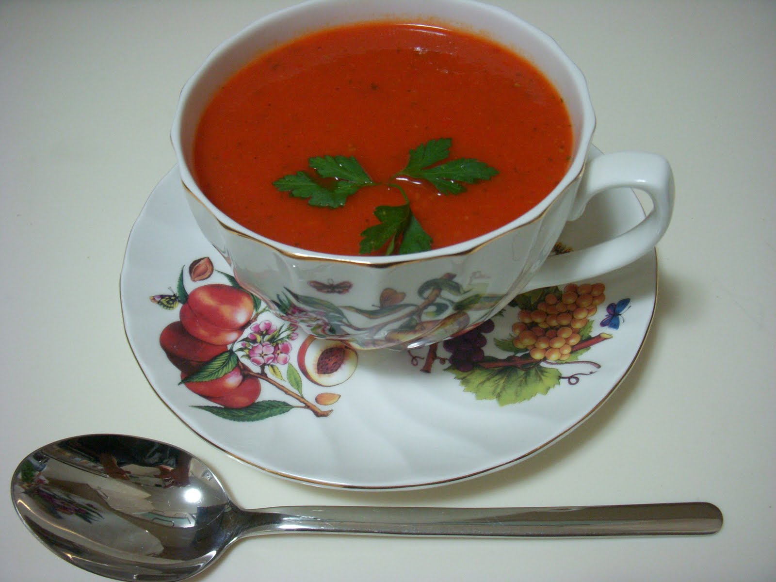 Diyet Kabak Çorbası - 80 Kalori