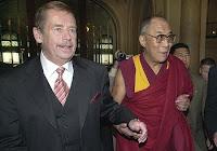 Havel a Dalajláma