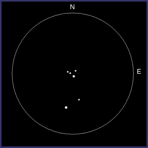M73, cúmulo abierto en AQR M73-02