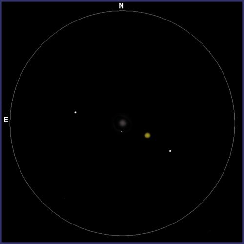 M79, globular en Liebre con prismáticos. M79-0003