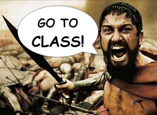 GO TO CLASS!: umichksa.blogspot.com/2010/10/go-to-class.html