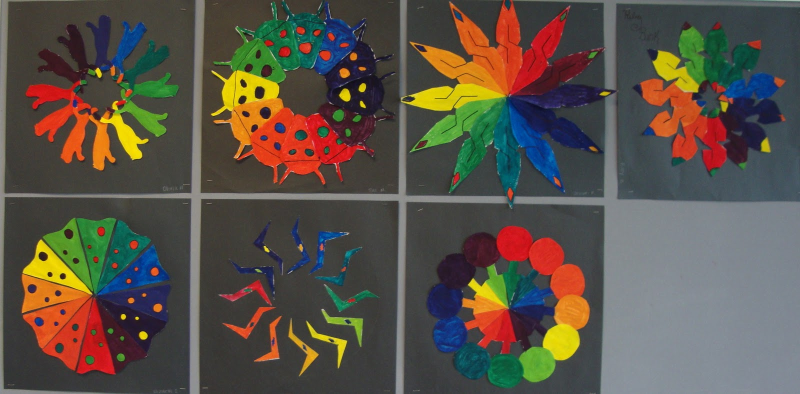 Cool Color Wheel Ideas art. paper. scissors. glue!: creative color wheel