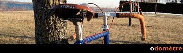 Odomètre de mes sorties de vélo