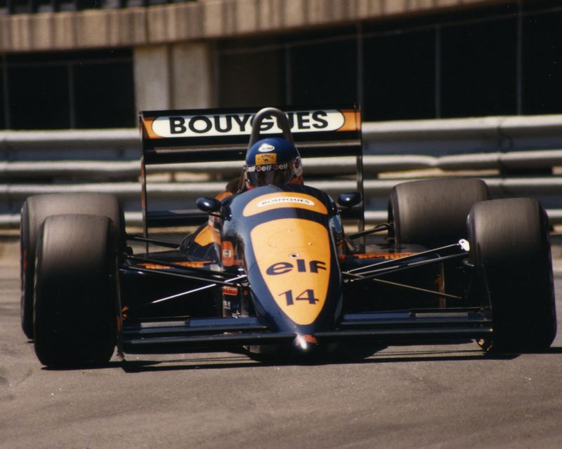 Equipe AGS de Formula 1 de 1988 by blogsportbrasil.blogspot.com