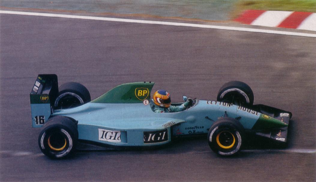Leyton House, equipe histórica de Formula 1 de 1991 - by blogsportbrasil.blogspot.com