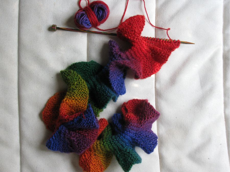 Knitting Pattern For Potato Chip Scarf : Potato Chip Scarf Allfreeknittingcom Apps Directories