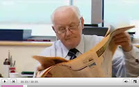 Still from Below the Radar/BBCNI profile of Sir Allen McClay