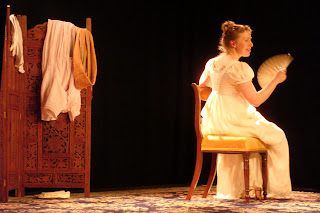 Rebecca Vaughan in Austen's Women at the 2010 Out to Lunch arts festival