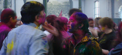 Holi - Festival of Colours - Belfast's St George's Market