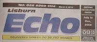 Lisburn Echo free sheet masthead