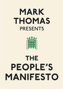 Book cover of Mark Thoas - The People's Manifesto