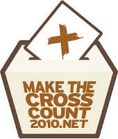 Logo for CARE's Make The Cross Count initiative