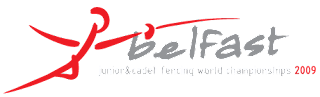 2009 World Fencing Championship logo