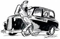 Féile an Phobail - drama in a taxi